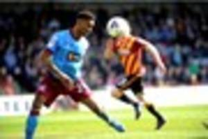 scunthorpe striker ivan toney cannot get carried away despite...
