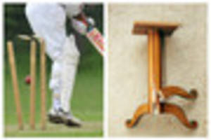 cricketer jailed after throwing a table at a team mate