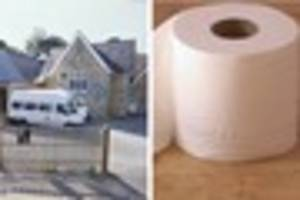 A cash-strapped school is asking parents to donate toilet rolls