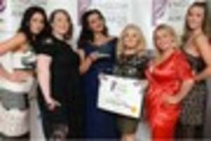 The Treatment Room in Tutbury scoops THREE accolades at the Hair...