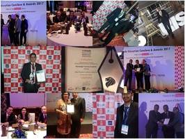 """bankedge wins the """"best placement academy in banking"""" award 2017 at estrade singapore - education conclave and awards 2017"""