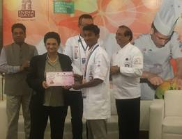 student of chennais amirta makes the city proud winning bronze medal in national level culinary art competition
