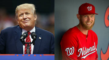 Donald Trump's old Stephen Strasburg tweets could make Opening Day a little awkward