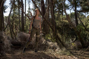 alicia vikander steps into lara croft's boots in first official 'tomb raider' photos