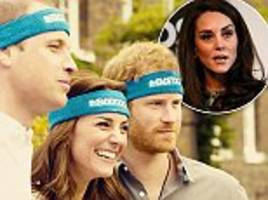 kate, wills and prince harry campaign on mental health