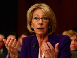 betsy devos just compared school choice to taking uber over a taxi — here's why could be troubling