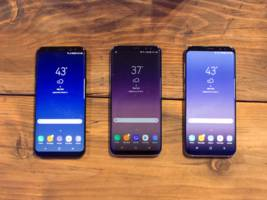 here's samsung's newest phone, the galaxy s8 (ssnlf)