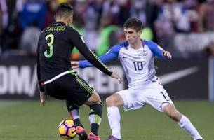 concacaf world cup qualifying standings after mexico win, usmnt draw