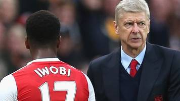Arsenal boss Arsene Wenger should stay on as manager, says Alex Iwobi