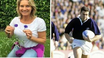 Rugby star's wife goes missing from Edinburgh home