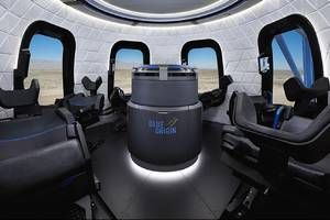 blue origin releases first interior photos of the capsule that will take tourists to space