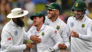 New Zealand v South Africa: Rain helps tourists to series win