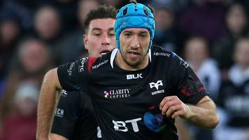 justin tipuric: ospreys flanker relishing first european knockout match