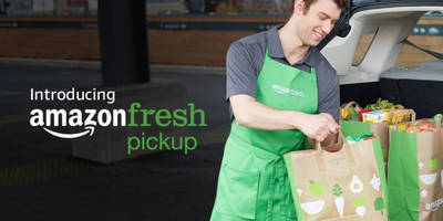 Amazon now delivers groceries straight to your trunk in 15 minutes