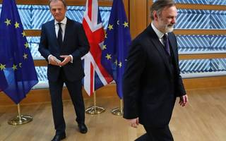 and we're off: city at heart of brexit talks as pm prepares for eu hardball