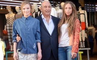 another blow to sir philip green as topshop's md quits
