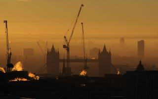 Housebuilding in central London is grinding to a halt as house prices drop