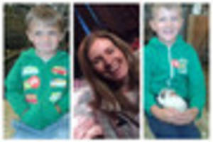 Police continue hunt for missing mum and her two sons