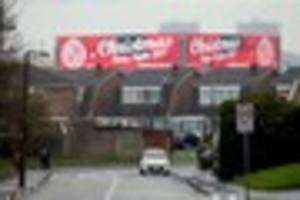 christmas advertised in walsall already