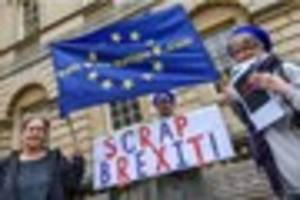 bath stages pro-eu gathering as theresa may begins brexit process...