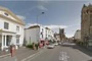 a teenager was 'stabbed' on dover high street after reports of an...