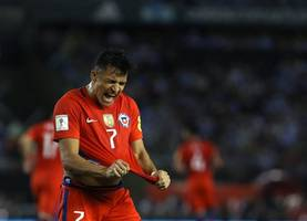 alexis sanchez equals chile's all-time top scoring record as speculation over his future continues