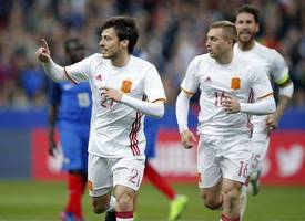 technology lends a hand as spain beat france 2-0