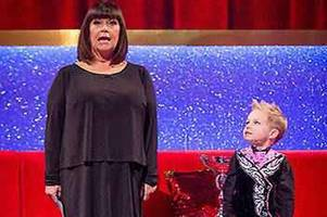 five-year-old irish dancer from motherwell makes sensational tv debut on dawn french's little big shots