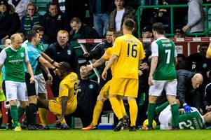 Neil Lennon accuses Morton player of trying to break Hibs star's leg in furious rant after fiery clash
