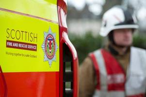 teenage boy left with serious injuries following deliberate fire in fife