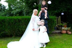 Wedding of the Week: Danielle McCluskey and Barry Murray