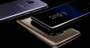 samsung galaxy s8 and galaxy s8+ make their worldwide debut