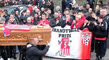 derry city boss says mcbride, farren and buncrana tragedies have left club shattered