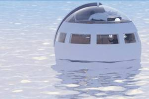 Would you be able to sleep in a hotel room 'pod' floating in the ocean?