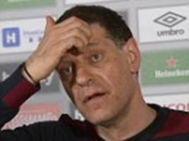 west ham manager slaven bilic shrugs off sack talk