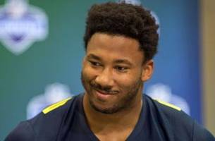 myles garrett explains why he bothered with his pro day after historic nfl combine