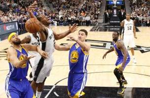 Warriors storm back from 22-point deficit to beat the Spurs and Kawhi Leonard