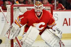 the moose has settled in: brian elliott backstopping the flames' playoff hunt