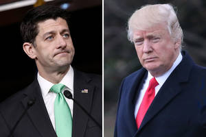 paul ryan says trump 'was very apologetic' after promoting show that slammed house speaker