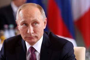 putin denies russia interfered with us election, calls claims 'provocations and lies'