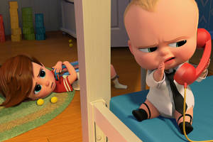'the boss baby' review: wit and charm gets sunk in too much formula