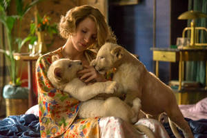 'the zookeeper's wife' review: jessica chastain saves polish jews but can't rescue the movie