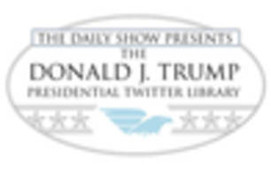 'Daily Show' To Unveil Tremendous Trump Twitter Library In NYC