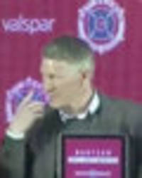 Bastian Schweinsteiger asked RIDICULOUS question at Chicago Fire press conference