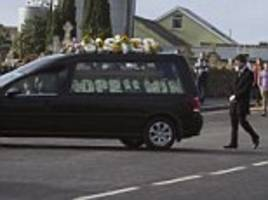 friends and family attend funeral of danielle mclaughlin