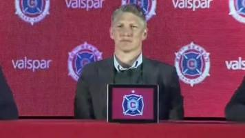 Bastian Schweinsteiger asked if Chicago Fire can win the World Cup