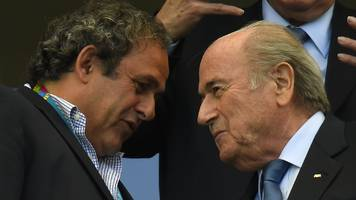 michel platini: fifa boss sepp blatter wanted to make me his last scalp