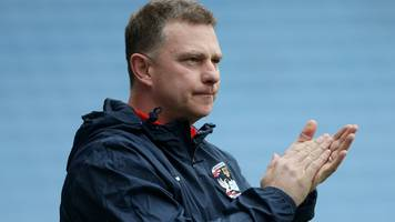 Mark Robins: Coventry City manager says no pressure on Sky Blues at Wembley