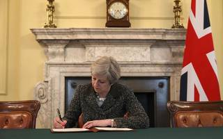 may writes in seven european papers on hopes for deep relationship with eu