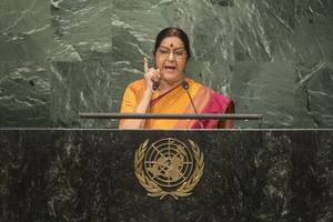 administration on alert to ensure incidents of attack on nigerians don't repeat: swaraj